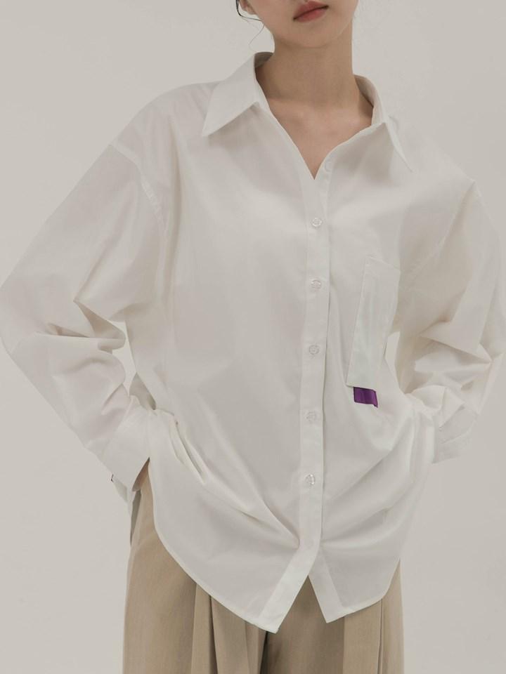 雙層口袋細節襯衫