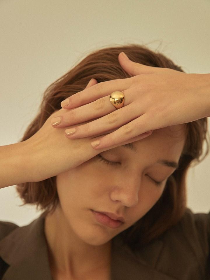 晨露戒指 - 黃銅